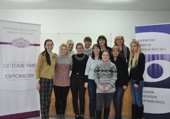 Училищен скрининг на зрение, съвместно с ирландски оптометристи, в началото на 2017